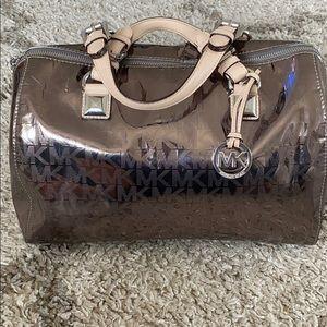 Michael Kors gunmetal bag